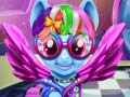 Spel Rainbow pony real haircuts