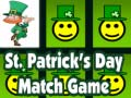 Játék St. Patrick's Day Match Game