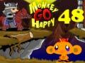 Игра Monkey Go Happy Stage 48