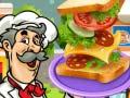 Игра Sandwich Baker
