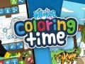 Oyunu Hello kids Coloring Time