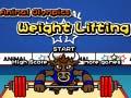 Oyunu Animal Olympics Weight Lifting