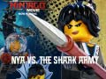 Ігра Lego Ninjago: Nya vs The Shark Army