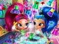 Hra Shimmer And Shine Wardrobe Cleaning