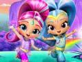 Игра Shimmer and shine Rainbow waterfall adventure