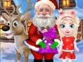 Ігра Save Injured Santa And Christmas Elk