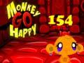 Игра Monkey Go Happy Stage 154