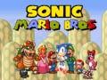 Игра Sonic Mario Bros