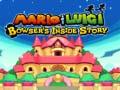Ігра Mario & Luigi: Bowser's Inside Story