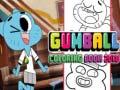 Игра Gumbal Coloring book 2018