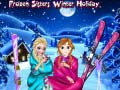 Игра Frozen Sisters Winter Holiday