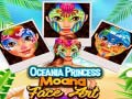Mäng Oceania Princess Moana Face Art