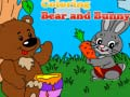 Игра Coloring Bear and Bunny