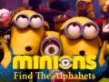 Mäng Minions Find the Alphabets