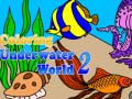 Игра Сoloring Underwater World 2