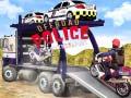Игра Offroad Police Cargo Transport