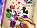 Игра Minnie Coloring Book