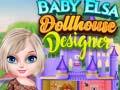 Игра Baby Elsa Dollhouse Designer