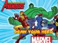 Spēle Marvel Draw Your Hero