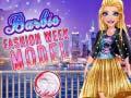 Игра Barbie Fashion Week Model