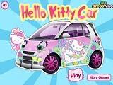 খেলা Hello Kitty Car