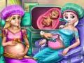 Игра Royal BFFs Pregnant Checkup