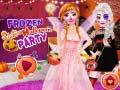Игра Frozen Sisters Halloween Party