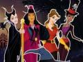Игра Princesses Halloween Night