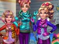 Игра Princesses Winter Holiday