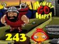 Игра Monkey Go Happy Stage 243