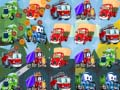 Игра Cartoon Trucks Match 3
