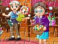 Игра Xmas Jigsaw 2