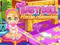 Игра Baby Doll House Cleaning