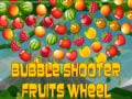 Ігра  Bubble Shooter Fruits Wheel