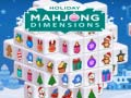 Игра Holiday Mahjong Dimensions