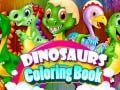 Ойын Dinosaurs Coloring Book