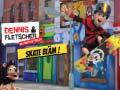 Ойын Dennis & Gnasher Unleashed Skate Blam