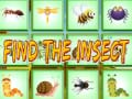 Spel Find The Insect