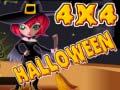 Игра 4X4 Halloween
