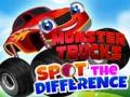 Permainan Monster Trucks Spot the Difference