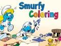 Παιχνίδι Smurfy Coloring