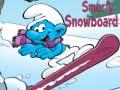 Permainan Smurfy Snowboard
