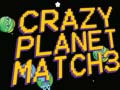 Игра Crazy Planet Match 3