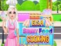 Ігра Elsa Street Food Cooking