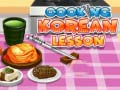 Game Cooking Korean Lesson