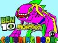 খেলা Ben10 Monsters Coloring book