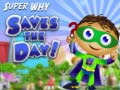 Игра Super Why Saves the Day