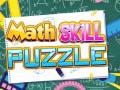 Игра Math Skill Puzzle