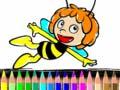 Ігра Back To School Maja the Bee Coloring Book