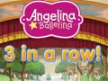 Ігра Angelina Ballerina 3 in a Row